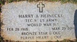 Harry A Heinecke