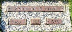 Katherine Elaine <i>Johnson</i> Allen