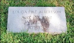 Louisa <i>Pike</i> Albertson