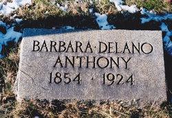 Barbara <i>Delano</i> Anthony