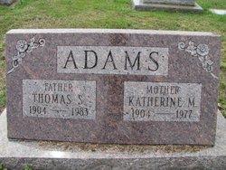 Katherine M Adams