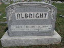 J Vance Albright