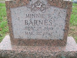 Minnie E. Barnes