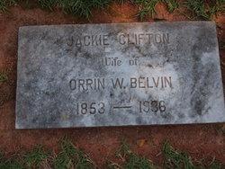 Jackie Haywood <i>Clifton</i> Belvin