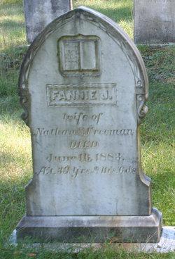 Frances J Fannie <i>Quincy</i> Freeman