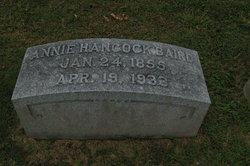 Annie <i>Hancock</i> Baird