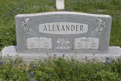 Cleo Francis <i>Bradley</i> Alexander
