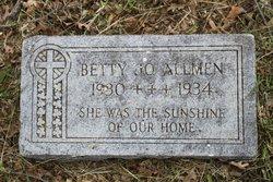 Betty Jo Allmen
