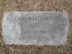 Eleanor <i>Winterbottom</i> Betz