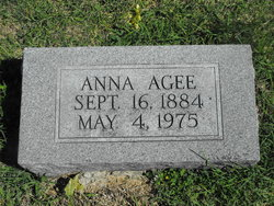 Anna <i>Williams</i> Agee