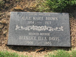 Alice Marie Brown