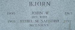 John W Bjorn