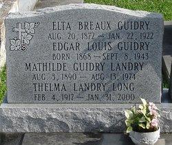 Edgar Louis Guidry