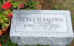 Dewey H Baldwin