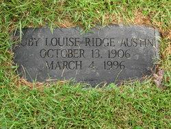 Ruby Louise <i>Ridge</i> Austin
