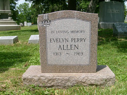 Evelyn <i>Perry</i> Allen