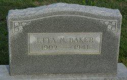 Etta Marie <i>Capps</i> Baker