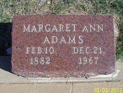 Margaret Ann <i>Harville</i> Adams