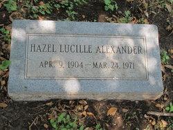 Hazel Lucile <i>Key</i> Alexander