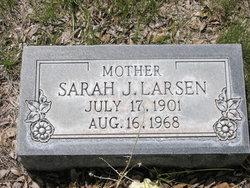 Sarah Jane <i>Richardson</i> Larsen