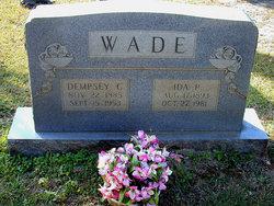 Ida Pauline <i>Glenn</i> Wade