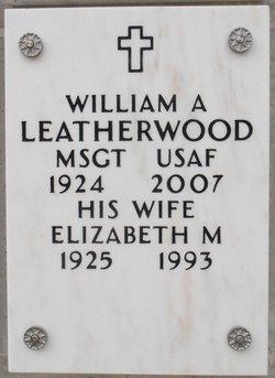 Elizabeth Marie Betty <i>Lussenhop</i> Leatherwood