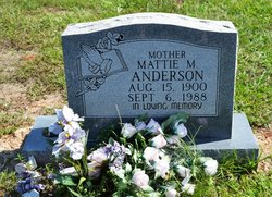 Mattie M. Anderson