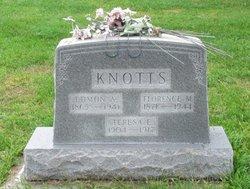 Florence May <i>Harvey</i> Knotts