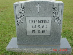 Eunice Williamette <i>Smith</i> Rockhold