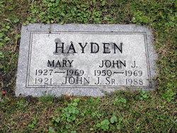 PFC John Joseph Hayden, Jr