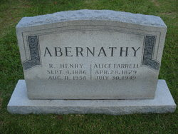 Alice <i>Farrell</i> Abernathy