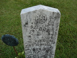 Pvt Albert Bullard