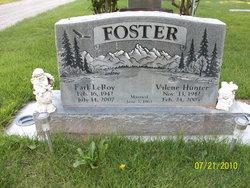 Valene <i>Hunter</i> Foster