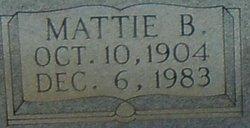 Mattie B. Curtis
