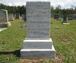 Martha C. <i>Maness</i> Davis