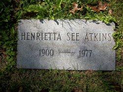 Henrietta Florence <i>See</i> Atkins