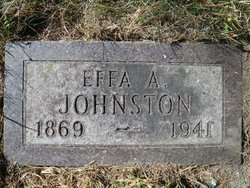 Effa Alona Effie <i>Carpenter</i> Johnston