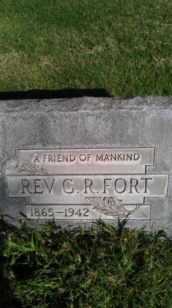 Rev George Roundtree G. R. Fort