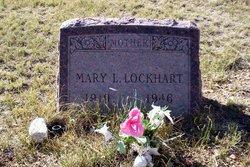 Mary L <i>Fink</i> Lockhart