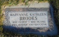 Maryanne Kathleen <i>Clark</i> Brooks