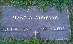 Mary Ann <i>Dusute</i> Asperger