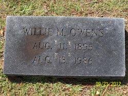 Willie May <i>Wakefield</i> Owens