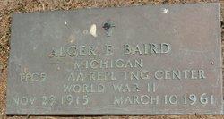 Alger E Baird