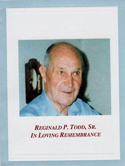 Capt Reginald Paul Raggy Todd, Sr