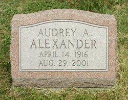 Audrey <i>Johnston</i> Alexander