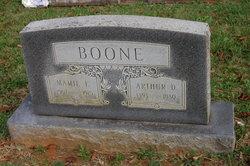 Arthur Daniel Boone
