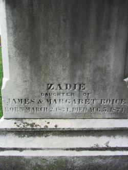 Zadie Boice