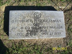 Frederick H Gockerman