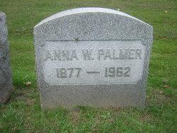 Anna W Palmer
