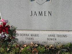 Donna Marie <i>Treonis</i> Jamen- Evans